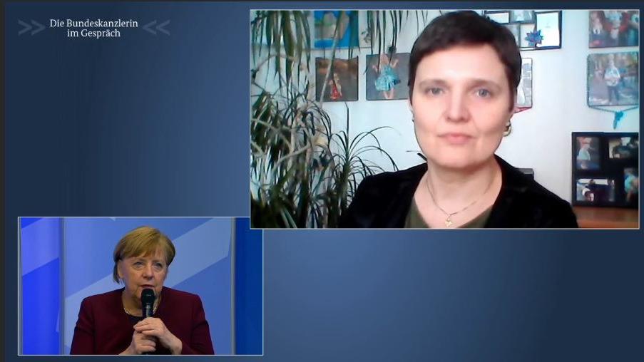 Bürgerdialog mit Angela Merkel